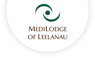 Medilodge of leelanau web logo